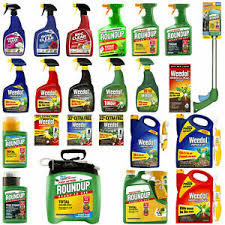 Weed killer, bug, slug and animal repellants